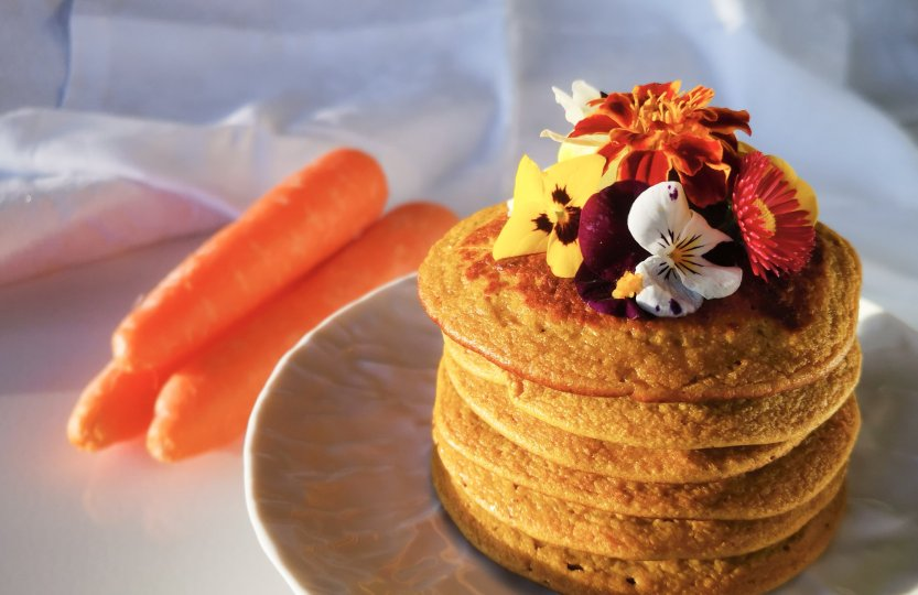 receita-panquecas-de-cenoura